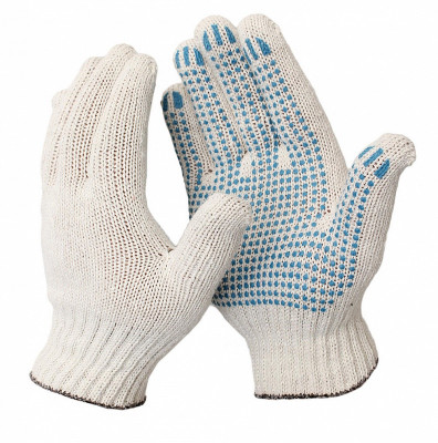 Перчатки ПВХ 10 класс 4 нити