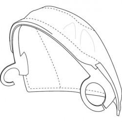 3M™ Speedglas® Пелерина для защиты головы от искр и брызг для щитка сварщика 3M™ Speedglas® 9100 FX