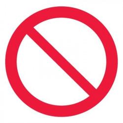 P21 Запрещение (прочие опасности или опасные действия)