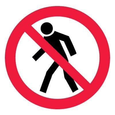 P03 Проход запрещен