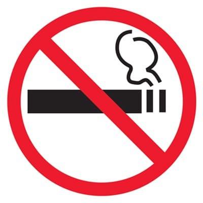 T214H Знак о запрете курения