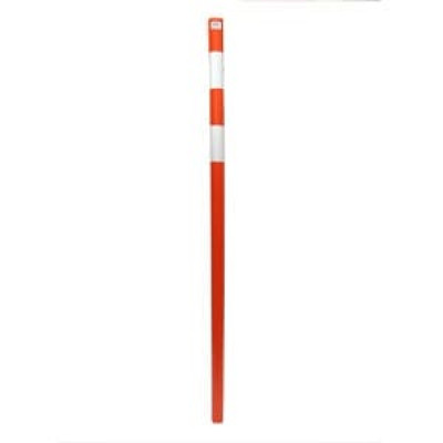 Веха оградительная оранжевая высотой 1,8м