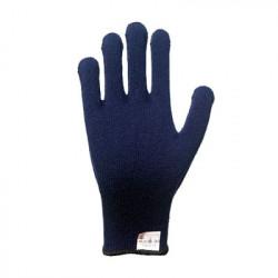 Перчатки трикотажные утепленные Каштан