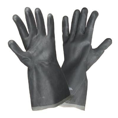 Перчатки кислотощелочестойкие (КЩС-2) тип 2