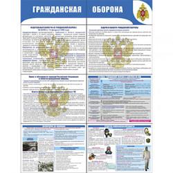 """Р-6 Стенд раскладной """"Гражданская оборона"""""""