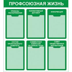 СТ-7 Стенд Профсоюзная жизнь