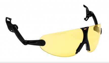 Очки открытые 3М V9A с крепление на каску