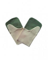 Рукавицы брезентовые двойной наладонник  (пл.520+420 г)