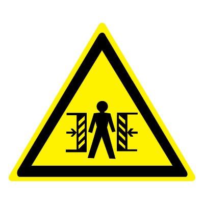 W23 Опасность зажима
