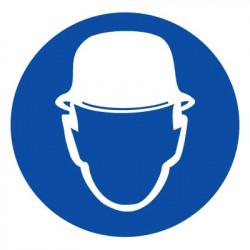 M02 Работать в защитной каске (шлеме)