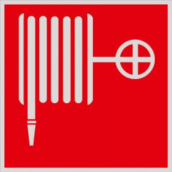 Знак Пожарный кран F02 световозвращающий
