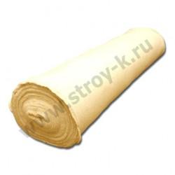 Полотно холсто-прошивное белое (50 м/п рулон), ширина - 1,5м