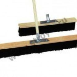 Щётка деревянная с метал.держателем, 400мм, б/чер