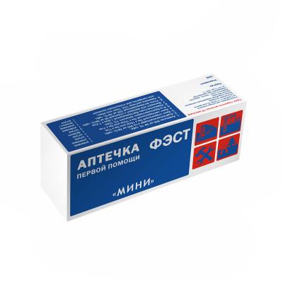 """Аптечка первой помощи """"МИНИ"""" для индивидуального пользования (футляр-коробка из пластика)"""