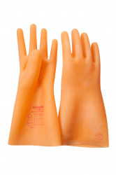 Перчатки резиновые диэлектрические АЗРИ ЭЛЕКТРО класс 0
