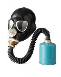 Противогаз фильтрующий ДОТ с гофротрубкой (маска ШМ-2012, МАГ, МАГ-ЗЛ или МАГ-4)