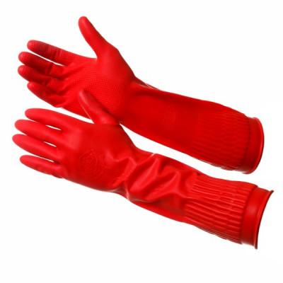 Перчатки Gward Rose длинные прочные хозяйственные
