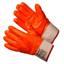 Перчатки Gward Flame Strong трикотажные утепленные с МБС покрытием с манжетом крагой
