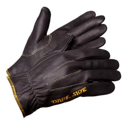 Перчатки Gward Force Dark Side улучшенные анатомические кожаные