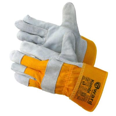 Перчатки Gward Kombi спилковые комбинированные