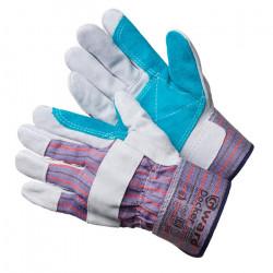 Перчатки Gward Docker спилковые комбинированные с усилением