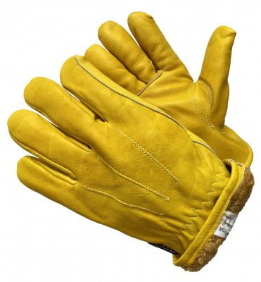 Перчатки Gward Force GOLD Zima утеплённые цельнокожанные