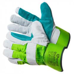 Перчатки Gward Docker Zima зимние спилковые с накладкой и микроволокнистым утеплителем