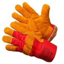 Перчатки Gward Ural Zima утепленные улучшенные спилковые комбинированные
