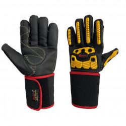 Перчатки Gward Vibroskin антивибрационные кожаные с ударной защитой