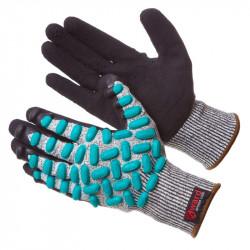 Перчатки Gward VibroHIT антивибрационные противопорезные