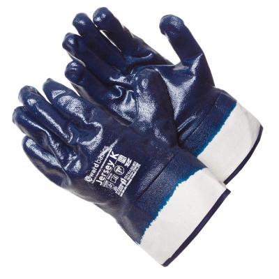 Перчатки Gward Jersey K с нитриловым покрытием манжет крага