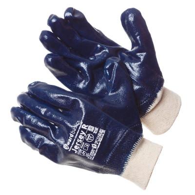 Перчатки Gward Jersey R с нитриловым покрытием манжет резинка