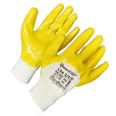 Перчатки Gward Lite Премиум-нитриловые, покрытые в три четверти