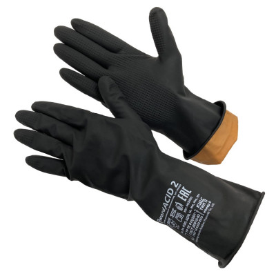 Перчатки Gward ACID 2 КЩС тип 2 резиновые технические