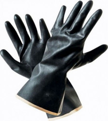 Перчатки кислотощелочестойкие (КЩС-1) тип 1