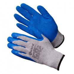 Перчатки ХБ Gward Stounсерые с текстурированным латексом