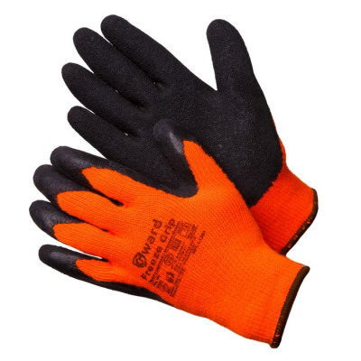 Перчатки Gward Freeze Grip утепленные акриловые с текстурированным латексом