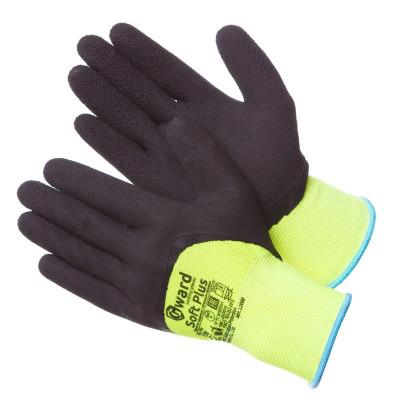 Перчатки Gward Soft Plus с глубоким покрытием вспененным латексом