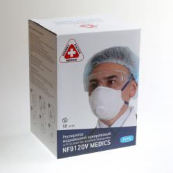 Респиратор медицинский NF9120V FFP2 с клапаном выдоха