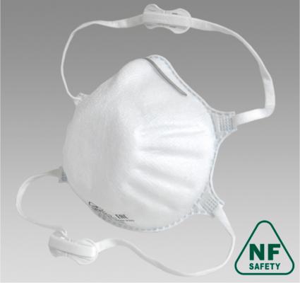 Полумаска фильтрующая NF812 FFP2 size L