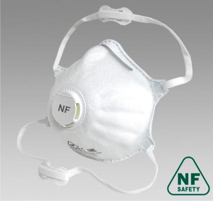 Полумаска фильтрующая NF812V FFP2 size L