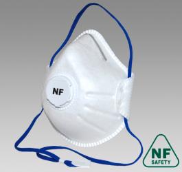 Полумаска фильтрующая NF812V FFP2 size M