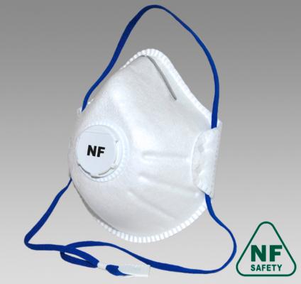 Полумаска фильтрующая NF813V FFP3 size M