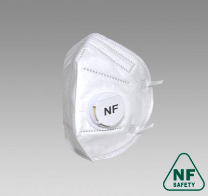 Полумаска фильтрующая NF822V FFP2 size L