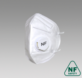 Полумаска фильтрующая NF823V FFP3 size L