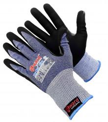 Противопорезные перчатки Gward No-Cut Hiro 5-го класса с микропористым нитрилом