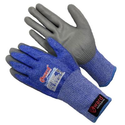 Противопорезные перчатки Gward No-Cut Markus 5-го класса с полиуретаном