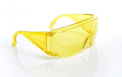 Очки открытые тип Люцерна жёлтые