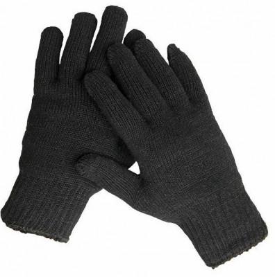 Перчатки утепленные полушерстяные