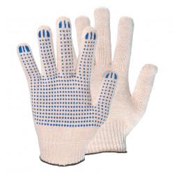 Перчатки ХБ 7,5 класс 7 нитей с ПВХ
